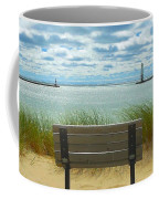 Frankfort Lighthouse Front Row Seats Available Coffee Mug