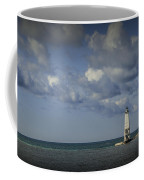 Frankfort Lighthouse On Lake Michigan Coffee Mug