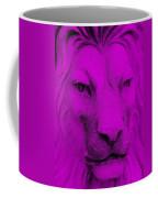 Frankie Lion Purple Coffee Mug