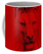 Frankie Lion Red Coffee Mug