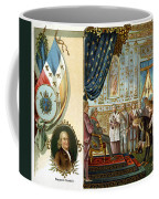 Franklin At Versailles Coffee Mug
