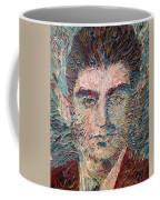 Franz Kafka Oil Portrait Coffee Mug