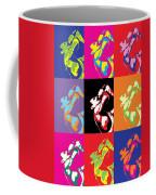 Freddie Mercury Pop Art Coffee Mug