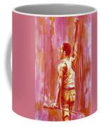 Freddie Mercury Singing Portrait.3 Coffee Mug