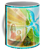 Free Spirit Dreamscape - Within Border Coffee Mug