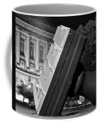 Free Stamp In Black And White Coffee Mug
