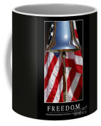 Freedom Inspirational Quote Coffee Mug