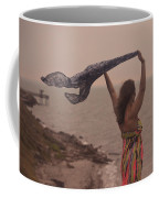 Freedom On Top Of A Cliff Coffee Mug