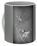 Freefalling Nova Scotia Skydivers In Stewiacke Coffee Mug