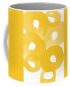 Freesia Splash Coffee Mug by Linda Woods