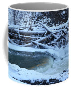 Freezing Dam Coffee Mug