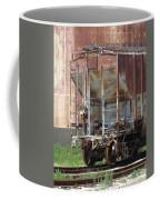 Freight Train Wheels 12 Coffee Mug