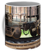 Freight Train Wheels 13 Coffee Mug