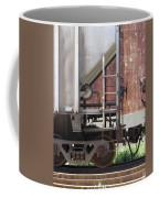 Freight Train Wheels 16 Coffee Mug