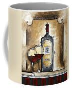 French Bordeaux Original Madart Painting Coffee Mug