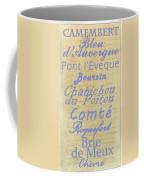French Cheeses-1 Coffee Mug