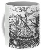 French Galley Operating In The Ports Of The Levant Since Louis Xi  Coffee Mug