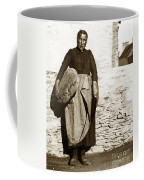 French Lady With A Very Large Bread France 1900 Coffee Mug
