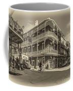 French Quarter Afternoon Sepia Coffee Mug