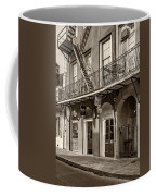 French Quarter Art And Artistry Sepia Coffee Mug