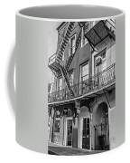 French Quarter Flair Bw Coffee Mug
