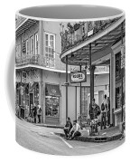 French Quarter - Hangin' Out Bw Coffee Mug by Steve Harrington