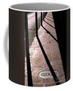 French Quarter Sidewalk Shadows New Orleans Coffee Mug
