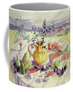 French Table Coffee Mug by Elizabeth Jane Lloyd