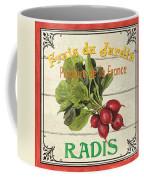 French Vegetable Sign 1 Coffee Mug by Debbie DeWitt