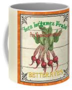 French Vegetable Sign 4 Coffee Mug by Debbie DeWitt