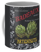 French Veggie Labels 1 Coffee Mug by Debbie DeWitt