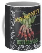 French Veggie Labels 2 Coffee Mug by Debbie DeWitt