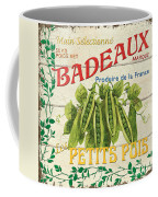 French Veggie Sign 1 Coffee Mug by Debbie DeWitt