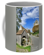 French Village Road Coffee Mug by Olivier Le Queinec