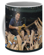 Frenzy At Fenway Coffee Mug by Jeff Ross