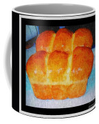 Fresh Baked Bread Three Bun Loaf Coffee Mug