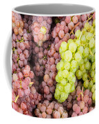 Fresh Grapes On Display Coffee Mug