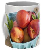 Fresh Nectarines Coffee Mug