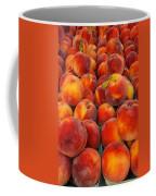 Fresh Peaches Coffee Mug