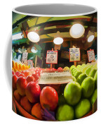 Fresh Pike Place Apples Coffee Mug