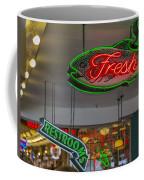 Fresh Restrooms Coffee Mug