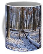 Fresh Snow In The Woods Coffee Mug