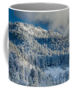 Fresh Snow On The Mountain Coffee Mug
