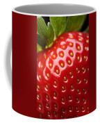 Fresh Strawberry Close-up Coffee Mug