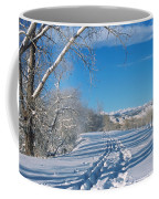 Fresh Tracks Coffee Mug