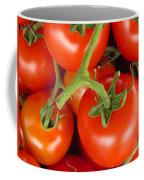 Fresh Whole Tomatos On Vine Coffee Mug
