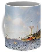 Fresh Wind On The Volga Coffee Mug by Isaak Ilyich Levitan