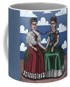 Frida Beside Myself Coffee Mug