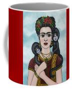 Frida In The Sky Coffee Mug