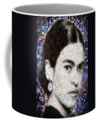 Frida Kahlo Mosaic Coffee Mug